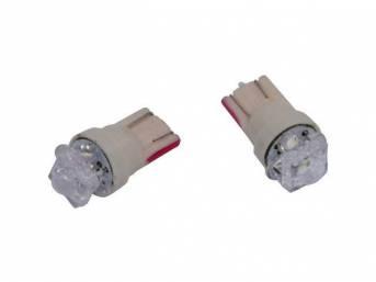LED KIT, CONSOLE CLOCK, FACTORY HUE 5X LED