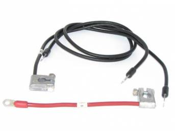 BATTERY CABLE SET, 6 CYLINDER