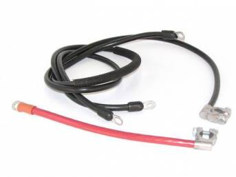 BATTERY CABLE SET, 8 CYLINDER