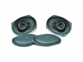 SPEAKER SET, 6 INCH X 9 INCH PACKAGE