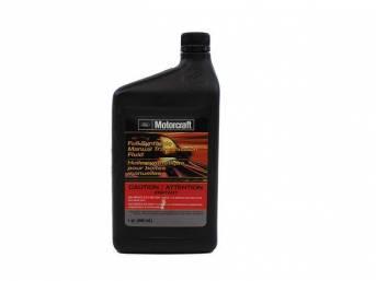 GEAR OIL, SAE 75W-90, Motorcraft Manual Transmission Fluid,