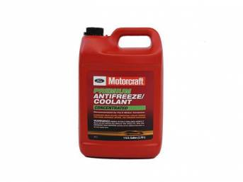ANTIFREEZE / COOLANT, Motorcraft, green concentrated, 1 gallon
