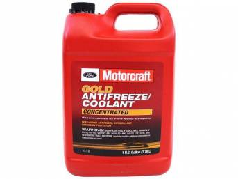ANTIFREEZE / COOLANT, Motorcraft, gold concentrated, 1 gallon