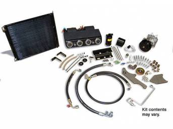A/C SYSTEM, DAILY DRIVER, COMPLETE, R-134a