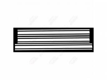 STRIPE KIT, FORD RACING ACCESSORY, WHITE, SOLD OVER