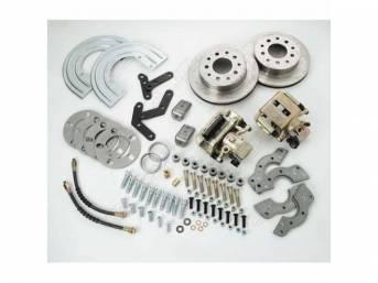 REAR DISC BRAKE CONVERSION KIT WORKS WITH 14