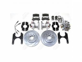 REAR DISC BRAKE KIT FORCE 10 SUPER DUTY
