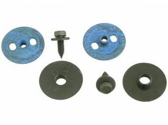 MOUNTING KIT, DOOR GLASS, REPRO, INCL 2 EACH