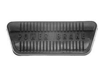 PAD, BRAKE PEDAL, BEST REPRO, CONCOURS QUALITY