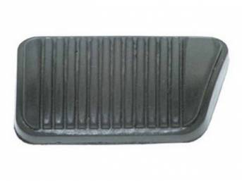 PAD, Brake Pedal, best repro, has edge groove