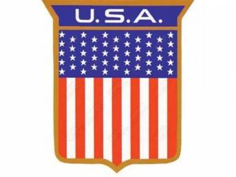 EMBLEM, QUARTER PANEL, *USA* SHIELD, DECAL