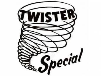 EMBLEM, QUARTER PANEL, TWISTER SPECIAL, DECAL