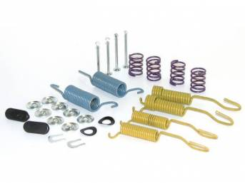 COMBI-KIT, Drum Brake Hardware, combines holddown and spring