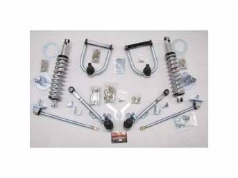 FRONT SUSPENSION CONVERSION KIT, Coil Over, Negative roll