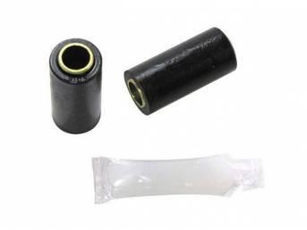 BUSHING, LOWER CONTROL ARM, BLACK, POLYURETHANE, REQUIRES USE