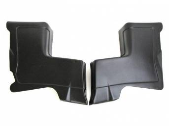 PANEL, Quarter Trim Rear, plastic, sold as replacements