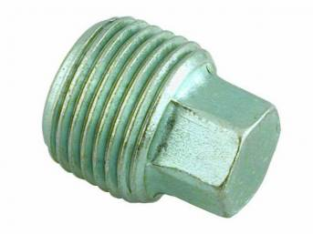 PLUG, 3/8 INCH PIPE HEX