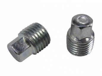 DRAIN PLUG, ENGINE BLOCK OR FUEL TANK