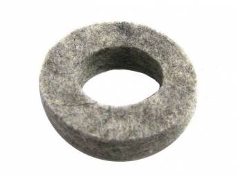 WASHER, FELT, GRAY