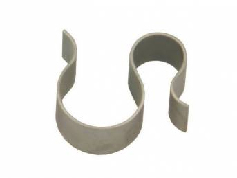 S CLIP, STAMPED STEEL