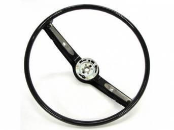 STEERING WHEEL, 2 SPOKE