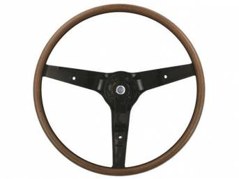 STEERING WHEEL, DELUXE 3 SPOKE