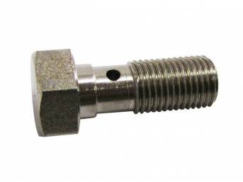 BOLT, BRAKE HOSE TO CALIPER, 3/8 INCH-24 X
