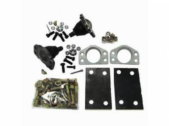 NEGATIVE CAMBER WEDGE KIT, LOWERS CONTROL ARM