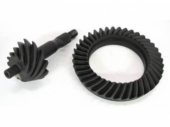 RING AND PINION SET, FORD 8 INCH, 3.55 RATIO