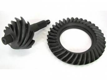 RING AND PINION SET, FORD 9 INCH, 3.89 RATIO