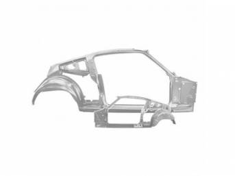 BODY SIDE FRAME ASSEMBLY, RH, Complete inner side
