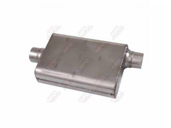 MUFFLER, Stainless Steel, ** Inventory closeout! **, MAC
