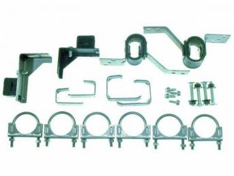 HANGER KIT, DUAL EXHAUST, 2 INCH