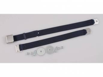 SEAT BELT, CLASSIC LOOK, 2 POINT