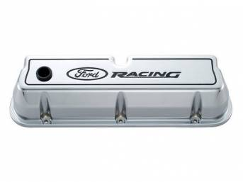 VALVE COVER SET, TALL FLAT TOP DESIGN