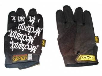 MECHANIX WEAR GLOVES, ORIGINAL, BLACK, LARGE, IMPROVED FINGER