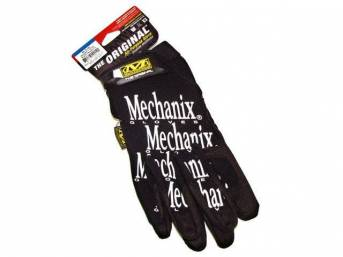 MECHANIX WEAR GLOVES, ORIGINAL, BLACK, MEDIUM, IMPROVED FINGER