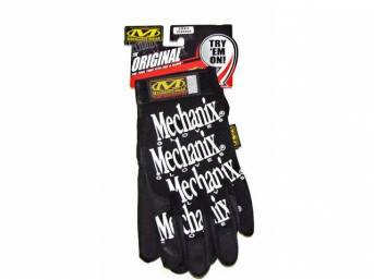 MECHANIX WEAR GLOVES, ORIGINAL, BLACK, SMALL, IMPROVED FINGER