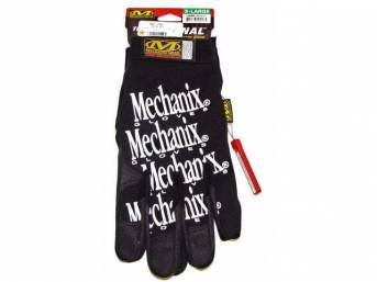 MECHANIX WEAR GLOVES, ORIGINAL, BLACK, EXTRA LARGE, IMPROVED