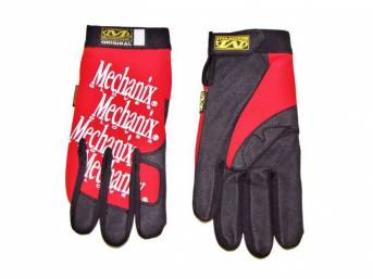 MECHANIX WEAR GLOVES, ORIGINAL, RED, EXTRA LARGE, IMPROVED