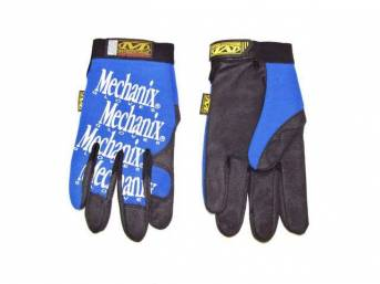 MECHANIX WEAR GLOVES, ORIGINAL, BLUE, MEDIUM, IMPROVED FINGER
