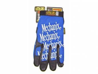 MECHANIX WEAR GLOVES, ORIGINAL, BLUE, EXTRA LARGE, IMPROVED