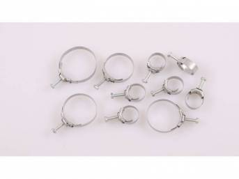 HOSE CLAMP KIT, BAND STYLE