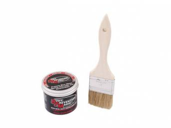 RUST PREVENTION MAGIC, 4 ounce jar, A brush