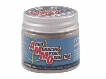 AMMO, 1 ounce jar, A brush on or