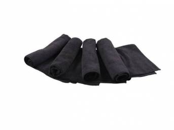 CHADWICKS Micro Fiber Towel, 4 pack, use w/