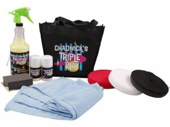Chadwick's Signature Car Care Paint Correction System