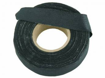 WRAP TAPE, BLACK CLOTH