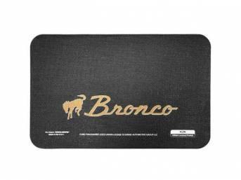 FENDER COVER, Fender Gripper, Bronco with bucking horse