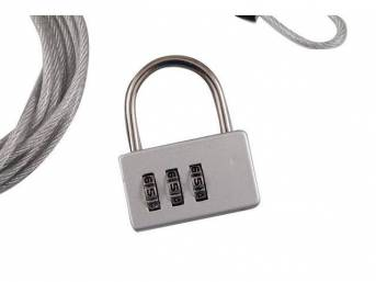 CABLE, CAR COVER LOCK